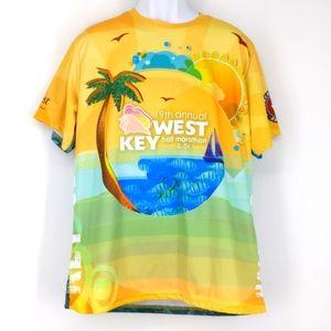 Key West 19th Annual Half Marathon Shirt Men's XL